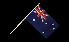 Stockflagge Australien