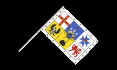 Stockflagge Australien Royal Standard