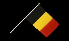 Stockflagge Belgien - 30 x 45 cm