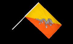 Stockflagge Bhutan