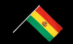 Stockflagge Bolivien