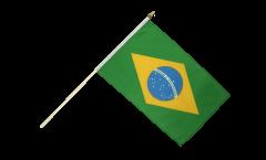 Stockflagge Brasilien
