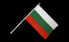 Stockflagge Bulgarien - 30 x 45 cm