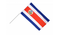 Stockflagge Costa Rica