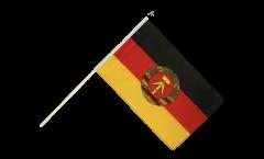 Stockflagge Deutschland DDR