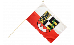 Stockflagge Deutschland Oberfranken - 30 x 45 cm