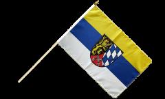 Stockflagge Deutschland Oberpfalz