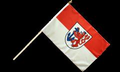 Stockflagge Deutschland Stadt Düsseldorf