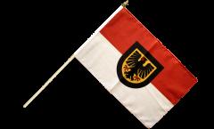Stockflagge Deutschland Stadt Dortmund
