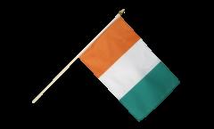 Stockflagge Elfenbeinküste - 30 x 45 cm