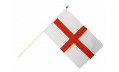 Stockflagge England St. George - 30 x 45 cm