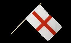 Stockflagge England St. George