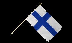 Stockflagge Finnland