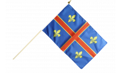 Stockflagge Frankreich Clermont-Ferrand - 30 x 45 cm