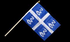 Stockflagge Frankreich Martinique