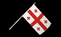 Stockflagge Georgien