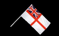 Stockflagge Großbritannien British Navy Ensign