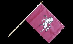 Stockflagge Großbritannien Kent