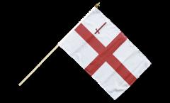 Stockflagge Großbritannien London