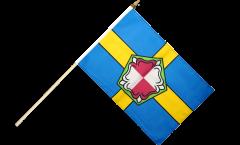 Stockflagge Großbritannien Pembrokeshire