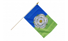 Stockflagge Großbritannien Yorkshire East Riding