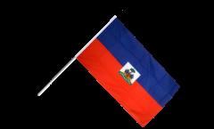 Stockflagge Haiti