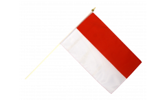 Stockflagge Indonesien