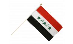 Stockflagge Irak alt 1991-2004