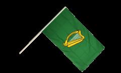 Stockflagge Irland Leinster