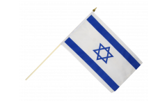Stockflagge Israel - 30 x 45 cm