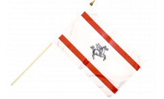 Stockflagge Italien Toskana - 30 x 45 cm