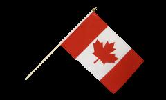 Stockflagge Kanada