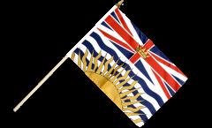 Stockflagge Kanada Britisch Kolumbien - 30 x 45 cm