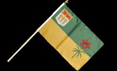 Stockflagge Kanada Saskatchewan - 30 x 45 cm