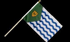Stockflagge Kanada Stadt Vancouver - 30 x 45 cm