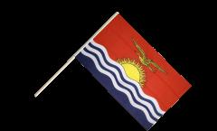 Stockflagge Kiribati