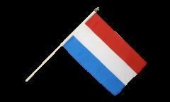 Stockflagge Luxemburg - 30 x 45 cm