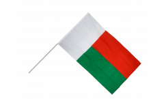 Stockflagge Madagaskar