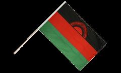 Stockflagge Malawi