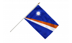 Stockflagge Marshall Inseln
