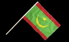 Stockflagge Mauretanien