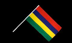 Stockflagge Mauritius