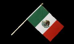 Stockflagge Mexiko - 30 x 45 cm