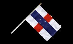 Stockflagge Niederländische Antillen - 30 x 45 cm