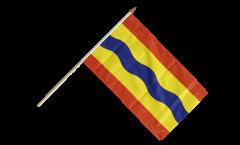 Stockflagge Niederlande Overijssel - 30 x 45 cm