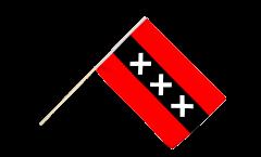 Stockflagge Niederlande Stadt Amsterdam