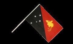 Stockflagge Papua-Neuguinea