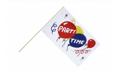 Stockflagge Party Time