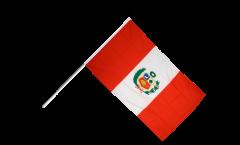 Stockflagge Peru