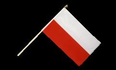 Stockflagge Polen - 30 x 45 cm